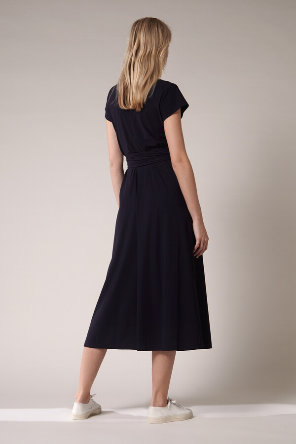 LONG SHIRT DRESS INK BLUE
