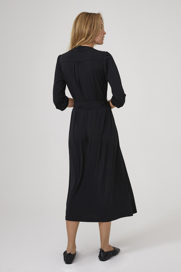 LONG VINTAGE DRESS BLACK