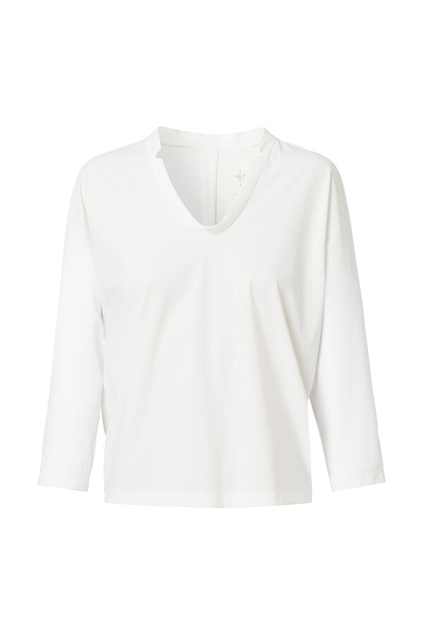 DRAPY LOOSE TOP OFF WHITE