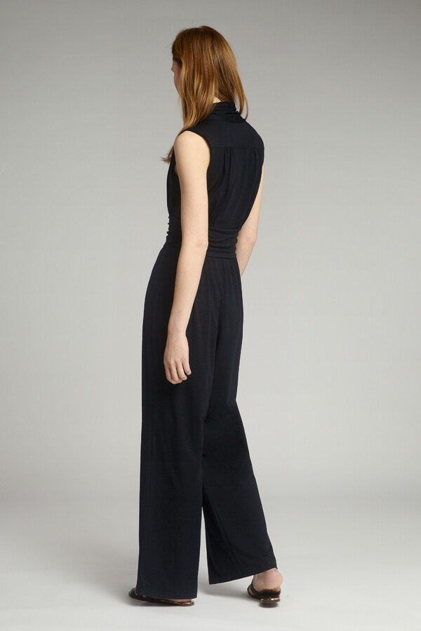 TENCEL JUMPSUIT MIDNIGHT BLUE